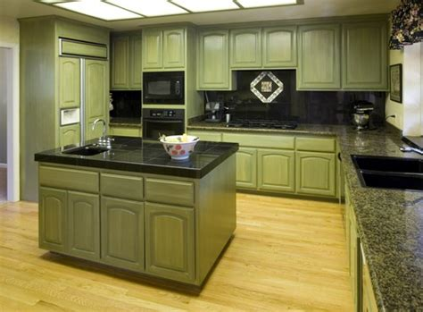 Colors Green Kitchen Ideas Kitchens In Five Colors Yellow White Blue And Green Home Design Garden