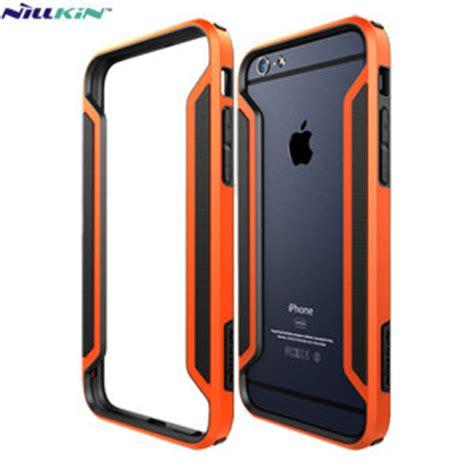 Nillkin Border Frame Bumper For Iphone 6 Plus Blue nillkin armor border iphone 6s 6 bumper orange