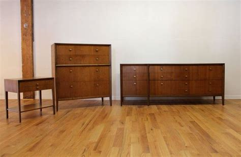 mid century bedroom set by west michigan furniture by