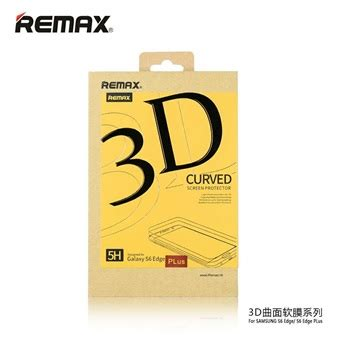 Remax Pet Cover Curved Screen Guard Samsung Galaxy S6 Diskon remax pet cover curved screen protector material 3d