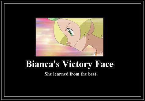 bianca victory face meme  dannybob  deviantart