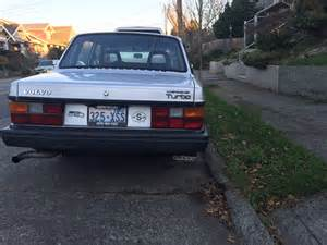 Fast Volvo 240 Weekends With The Intern The 1984 Volvo 240 Turbo Op Ed