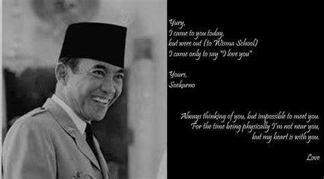 biography bahasa inggris soekarno ini surat cinta bung karno untuk istri istrinya viral