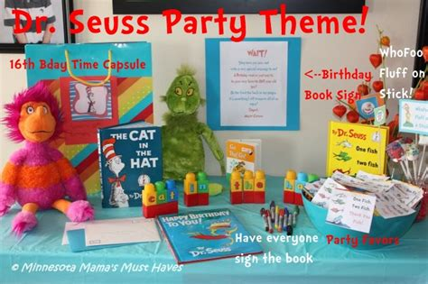 Baby Table And Chairs Set - dr seuss birthday party dr seuss party food ideas amp more