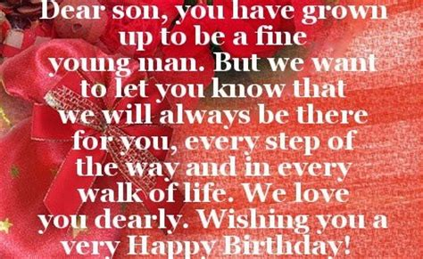 Birthday Quotes For A On Birthday 30th Birthday Quotes For Son Quotesgram