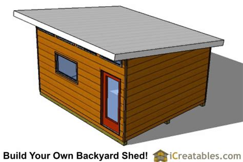 14x16 modern studio shed plans icreatables 14x16 modern studio shed plans icreatables