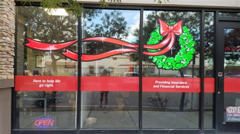 holiday window painting window painting sign painting