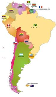 printable map of south america with countries flags of south american countries lolipop guild