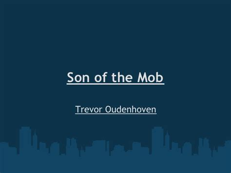themes in the book son of the mob son of the mob