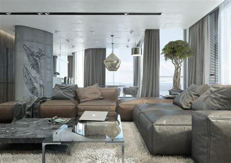 grau braun kombinieren einrichtung mit dem trendigen farbtrio grau braun wei 223 den wohnbereich