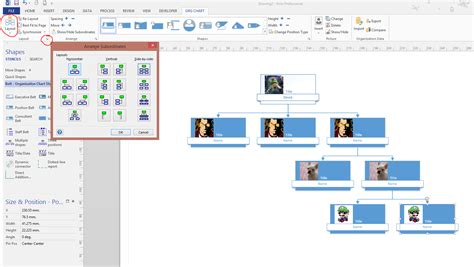 excel to visio organization chart wizard from excel to visio is