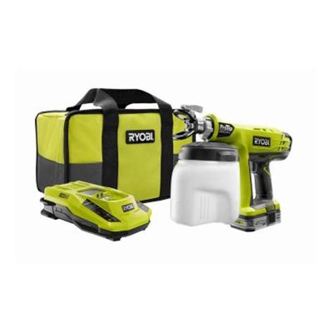 home depot paint sprayer ryobi giz wiz biz computer america 50 tools one battery