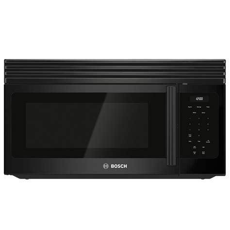 1 6 cu ft the range microwave black bosch 1 6 cu ft 300 series the range microwave