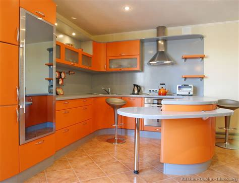 orange kitchen design contemporary orange kitchen cabinets designs modern home