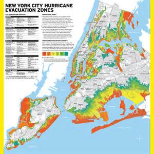New York City Safety Map by Check Your Zone Staten Island New Nyc Hurricane