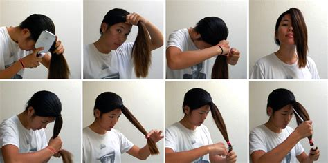 how to cut hair using 5 easy ways to layer cut your own hair at home
