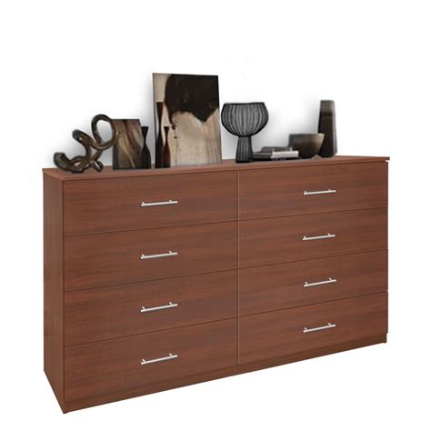 8 drawer dresser chest of drawers contempo space