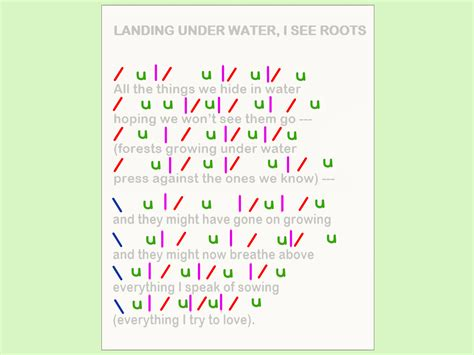 a poem how to scan a poem 10 steps with pictures wikihow