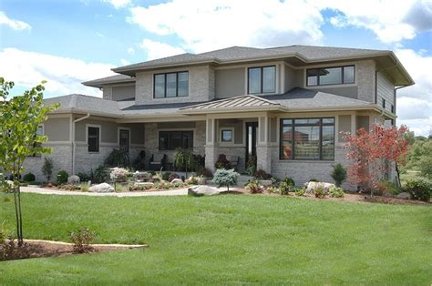 midwest house styles the transitional prairie style is perfect for this midwest