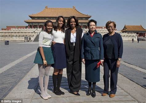 the first ladys trip to china the white house michelle obama s mom was wary about her marrying a man of