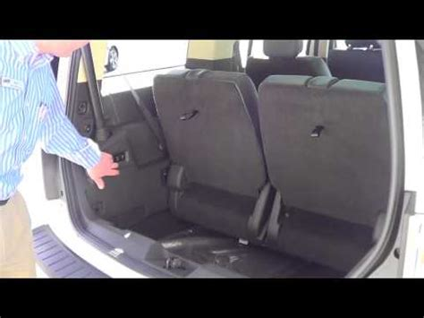 2014 ford flex seat covers 2014 ford flex tailgate seat feature at brighton ford