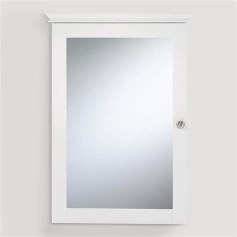 white framed mirrored medicine cabinet mirrored medicine cabinet replace sliding with hinged