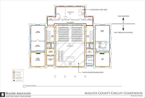 courtroom floor plan rooms in the house north cadbury court frazier associates augusta county courthouse