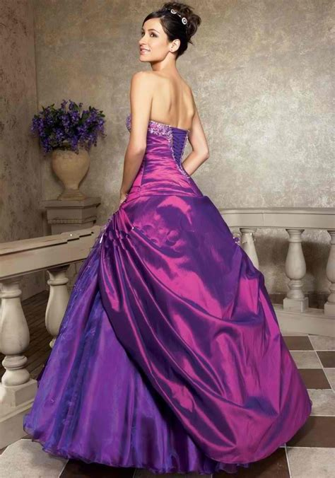 Purple Wedding Dress by Purple Dresses For Dresses