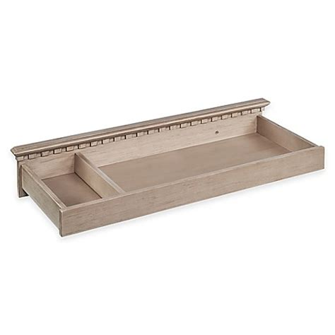 Changing Table Topper Buy Munire Venetian Changing Table Topper In Driftwood From Bed Bath Beyond
