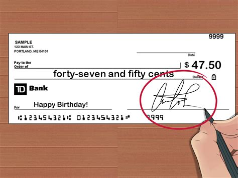expert advice on how to write a check with cents wikihow