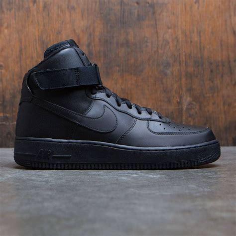 Nike One Black Black nike air 1 high 07 black black black