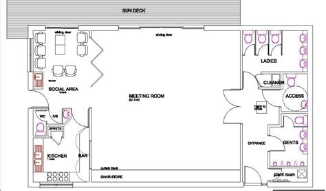 clubhouse layout plan projects new clubhouse 171 inchinnan cruising club