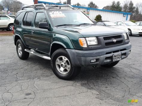 2000 alpine green metallic nissan xterra xe v6 4x4 89274993 gtcarlot car color galleries