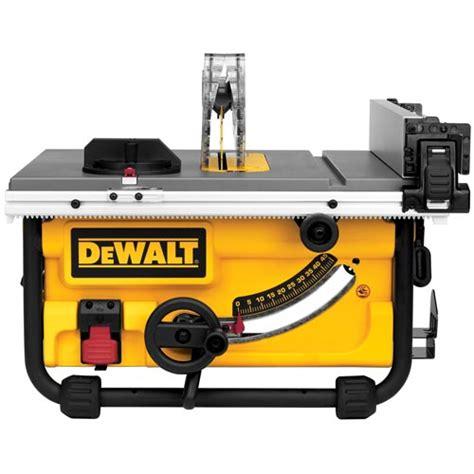 Dewalt Table Saws by Dewalt Dwe7480 Compact Table Saw