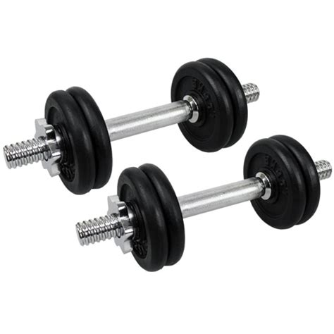 Dumbell 15kg confidence fitness pro 15kg dumbbell weights set the