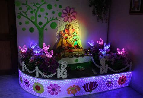 inspirational ganpati decor ideas   impress