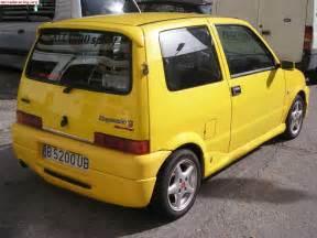 Fiat Cinquencento Fiat Cinquecento Sporting Motoburg