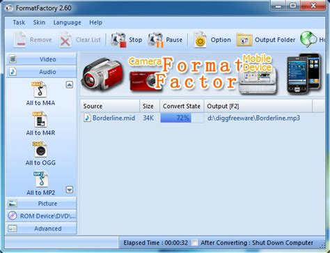 format factory free download chip online best free midi to mp3 wav flac m4a amr converter