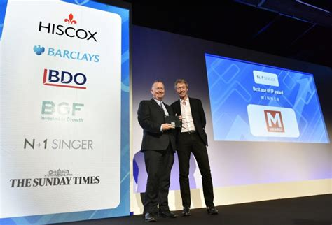 tmt investment banking league tables tech track n 1 singer presents the award for best use of