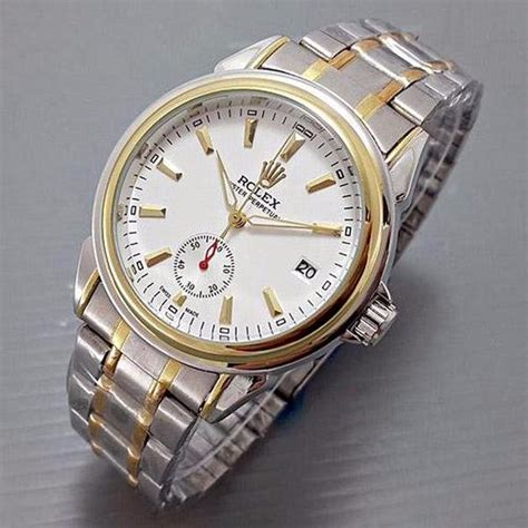 Jam Tangan Wanita Rolex Oyster Automatic 2 jual jam tangan pria rolex oyster chrono detik rantai kombinasi plat white automatic di lapak