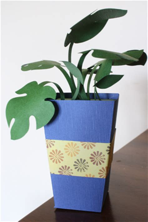 Paper From Plants - mothers day gifts paper plants tutorial make handmade