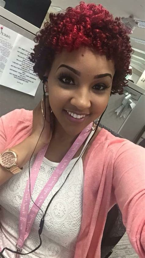 how your hair is addicted to perms perm rod set slayyyyeddd natural hair love the color