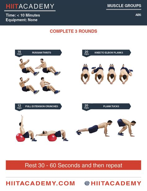 killer ab workout hiit academy hiit workouts
