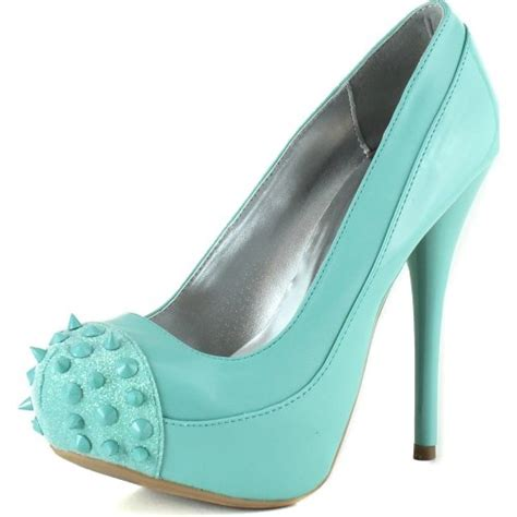 high heel mint prom shoes 2015 prom styles