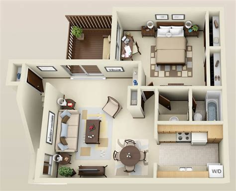 furniture for 1 bedroom apartment apartment 3d floor plans google search interior
