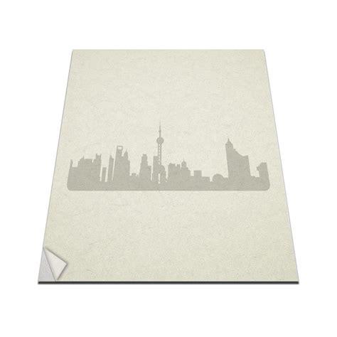 Wall Sticker Shanghai Blues City Gid 90 X 60 Cm shanghai city skyline vinyl wall decal vinyl revolution