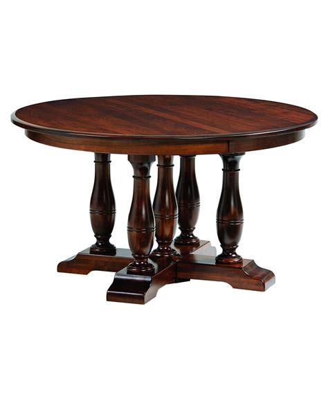 Split Pedestal Table westfield split pedestal table amish direct furniture