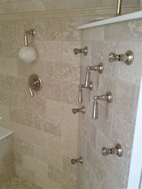 limestone tile bathroom limestone master bathroom traditional bathroom boston by fowler tile design