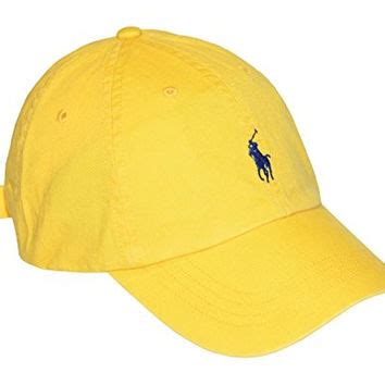 Adjustable Shoo Cap Yellow shop ralph cap on wanelo