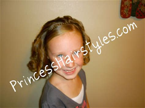 quick easy princess roll with hairband braided headband for short hair too hairstyles for